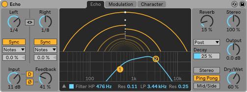 Ableton Live 10 Echo image