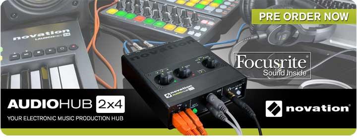 Novation Audiohub 2x4 Audio Interface