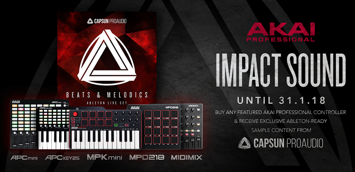 Akai Professional and CAPSUN ProAudio Limited Time Offer
