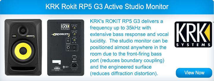 KRK RP5 G3 Studio Speakers
