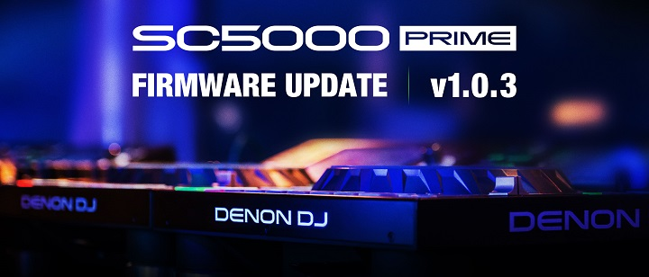 New Denon SC5000 firmware update aimed at Pioneer rekordbox users