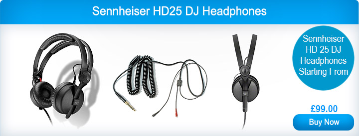 Sennheiser HD25 DJ Headphones