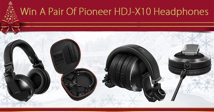 Win A Pair Of Pioneer HDJ-X10 Headphones Worth £299