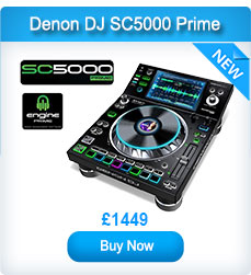 "Denon DJ SC5000 Prime Media Player with 7"" Multi-Touch Display"