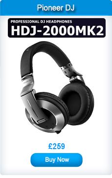 Pioneer HDJ-2000MK2 Professional DJ Headphones Black