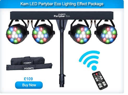 Kam LED Partybar Eco Lighting Effect Package