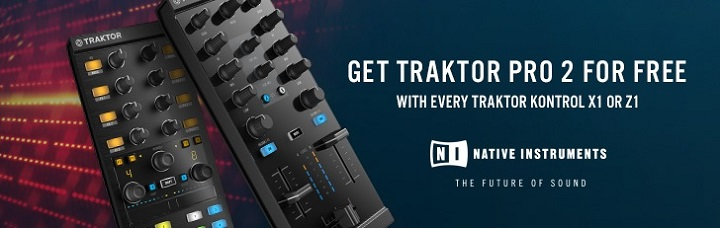 FREE Native Instruments Traktor Pro 2 DJ Software worth £80