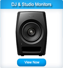 Pioneer DJ and Studio Monitors