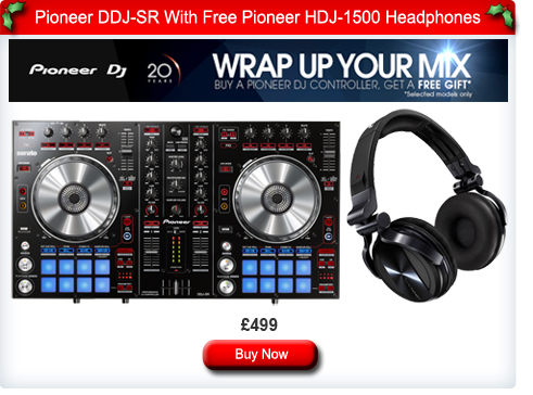 Pioneer DDJ-SR With Free HDJ-1500 Headphones