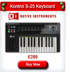 Native Instruments Komplete Kontrol S-25 MIDI Keyboard