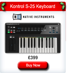 Native Instruments Komplete Kontrol S-25 MIDI Keyboard