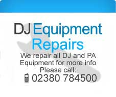 DJ Equipment Repairs