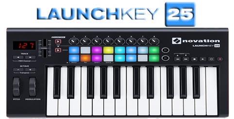 The Novation Launchkey 25 MK2