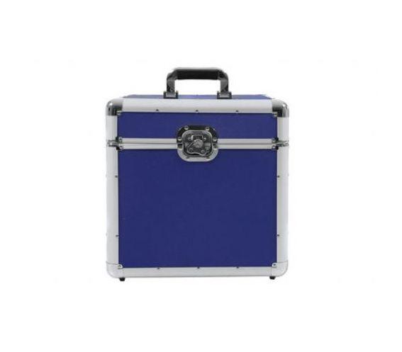 100 LP Flight case blue
