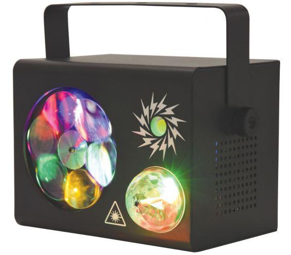 Gobo Fireflash 4-in-1 LED & Laser Effect
