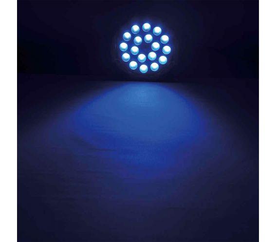 Zoom PAR Can - 18 x 8W RGBW LEDs