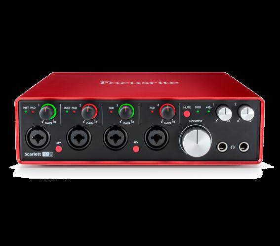 Focusrite Scarlett 18i8 Audio Interface (2nd Gen)
