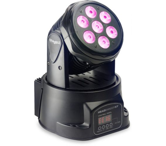 Stagg SLI MHW HBXT-0 headbanger moving head