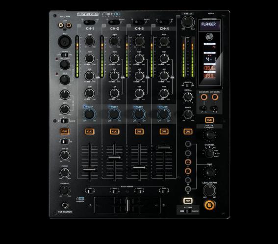 Reloop RMX-80 Digital 4-Channel Club Mixer - Ex Display
