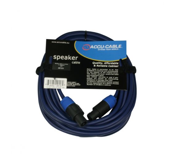 High Quality Speakon Cable 10m