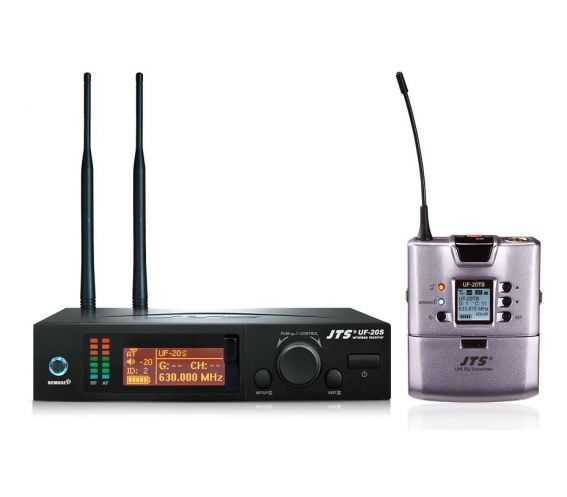 JTS UF-20S Receiver and UF-20TB Transmitter