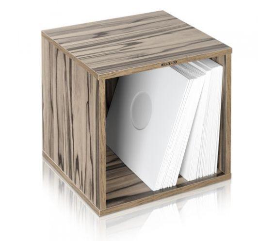 Zomo VS-Box 100 Vinyl Storage Walnut / Zebrano