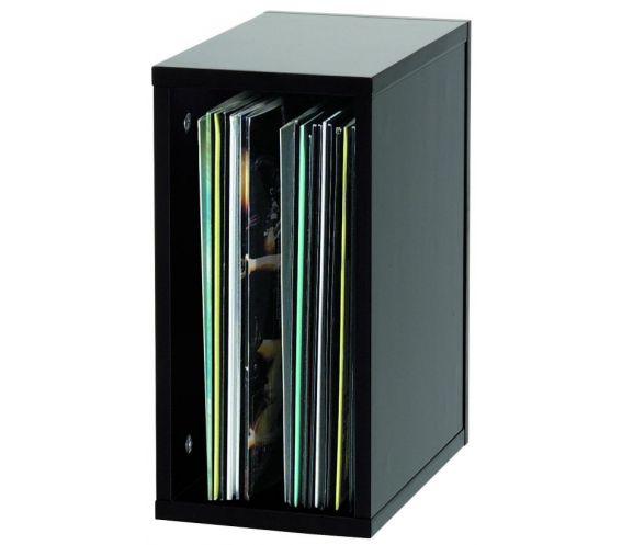 55 Record Box   Black