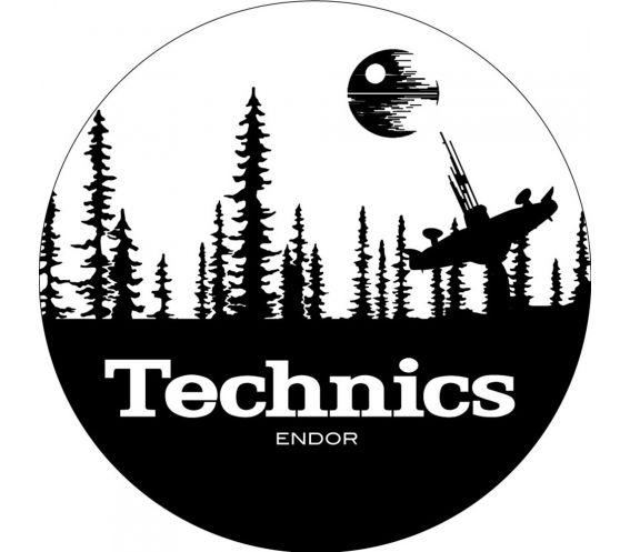 Technics x Magma Slipmats (Pair) Starwars Endor