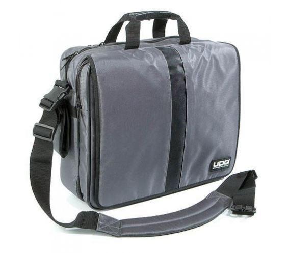 """UDG U9448 Courier Bag Deluxe 15"""" (Steel Grey)"""
