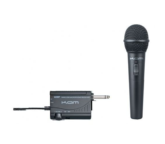 KWM1900 HH UHF wireless hand held microphone system
