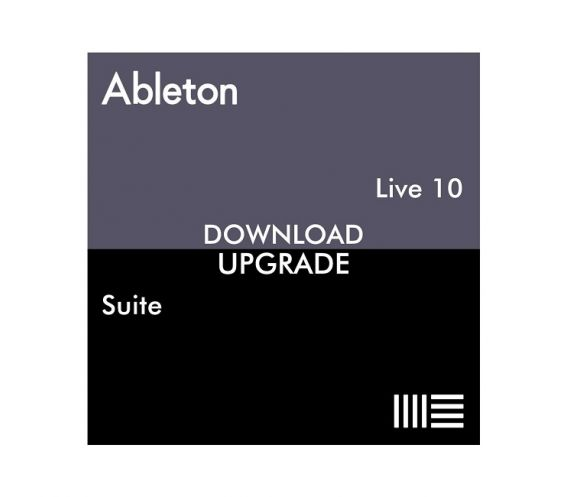 Ableton Live 10 Suite, UPG from Live 1-9 Standard (Download Only)