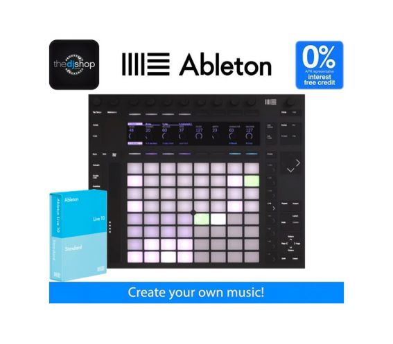 Ableton Live 10 Standard and Push 2 Music Production Bundle