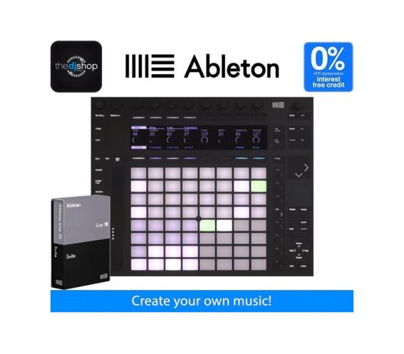 Ableton Live 10 Suite and Push 2 Music Production Bundle