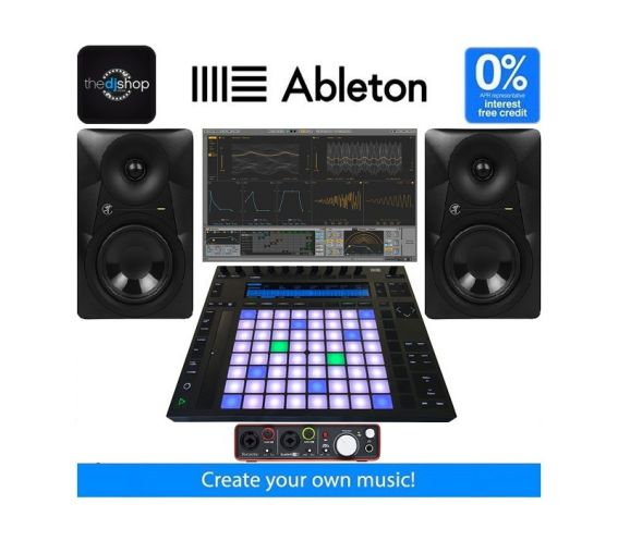 Advanced Ableton Live and Push 2 Music Production Package