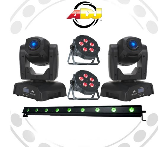 ADJ Professional All-In-One Lighting Equipment Package