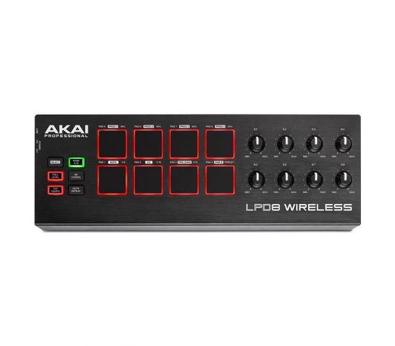 Akai LPD8 Wireless MIDI Controller Piano