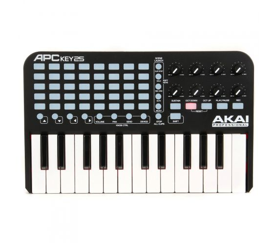Akai APC Key 25 Top View
