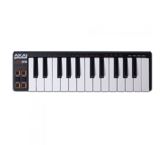 Akai LPK25 Keyboard Top