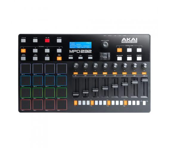 Akai MPD232 Pad Controller Top