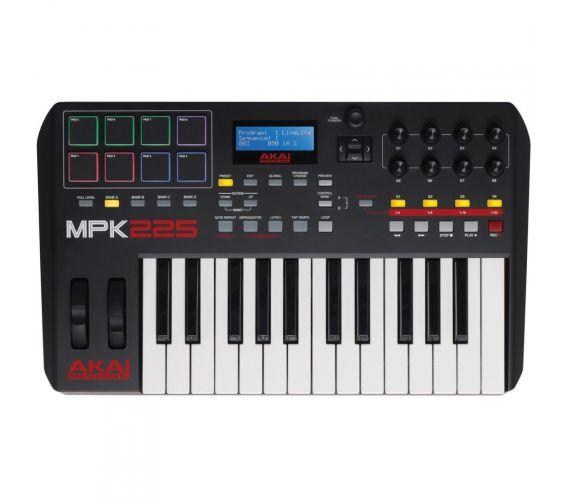 Akai-MPK225-MIDI-Controller-Keyboard
