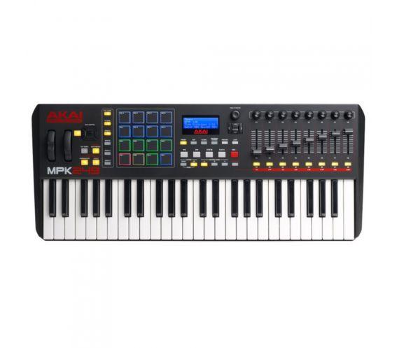Akai MPK249 MIDI Keyboard Controller Top