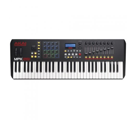 Akai MPK261 Keyboard Controller Top