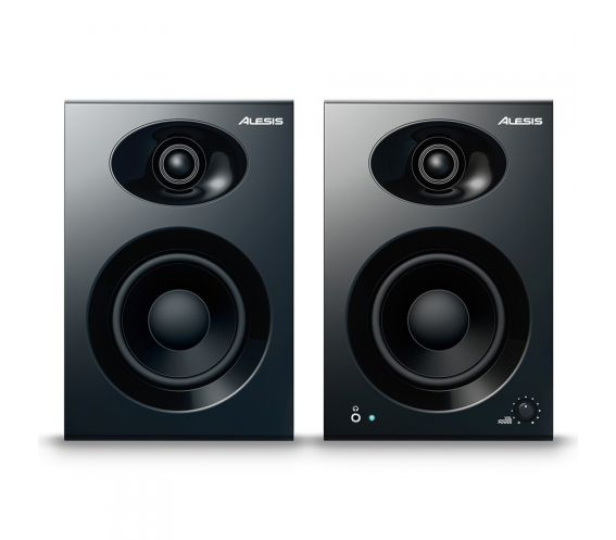 Alesis Elevate 4 Studio Monitors Front