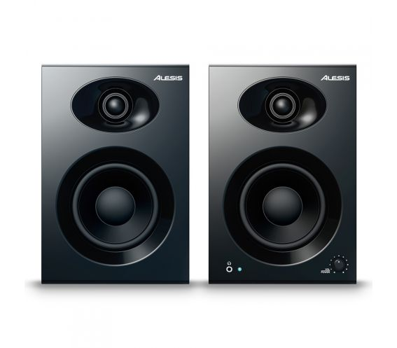 Alesis Elevate 4 Studio Monitors Front