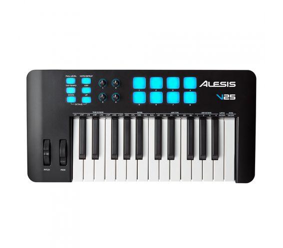 Alesis V25 MKII 25-Key USB-MIDI Keyboard Controller main image.