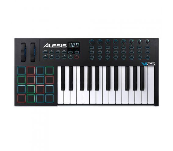 Alesis VI25 MIDI Keyboard Top