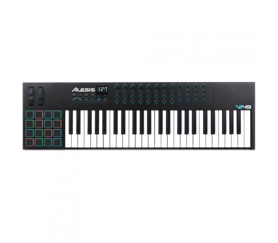 Alesis VI49 MIDI Keyboard Top
