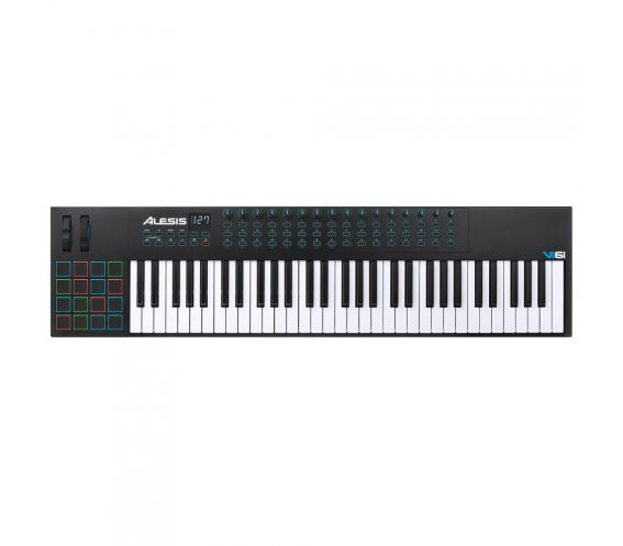 Alesis-VI61-MIDI-Keyboard-Controller Top View
