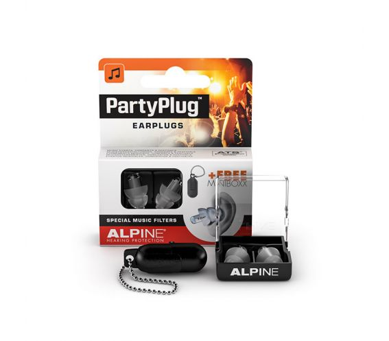 Alpine PartyPlug Earplugs with Special Music Filters