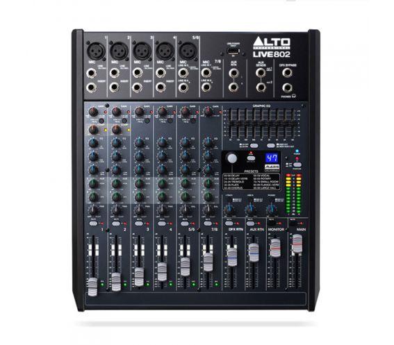 Alto Live 802 8-Channel Mixer